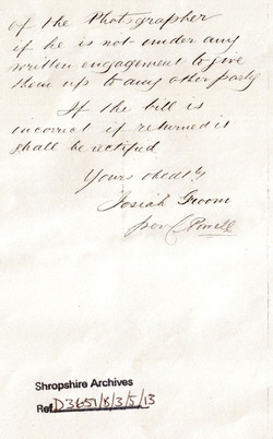 Josiah Groom Letter continued