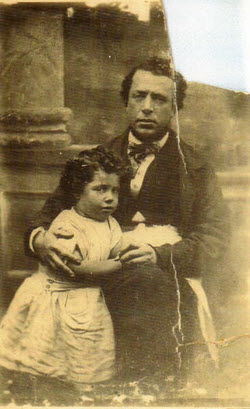 Abraham Augustus Ascoli and his son Abraham Arthur Ascoli