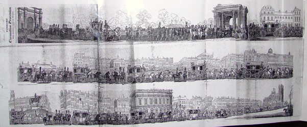 Panoramic Engraving by William Covell