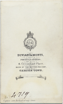 Diviani & Monte carte de visite photo 2 (verso)