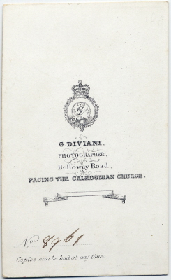 G Diviani carte de visite photo 1 (verso)