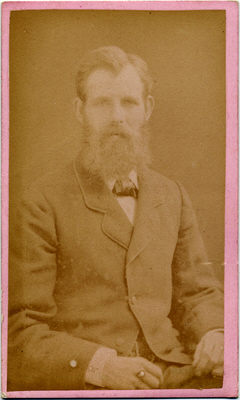 George McKenzie junior carte de visite photo 2