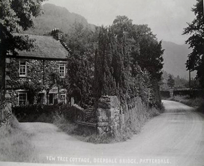 Joseph Lowe's home and studio at Deepdale Bridge, Patterdale