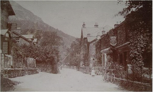 Postcard of Glenridding Street, Patterdale