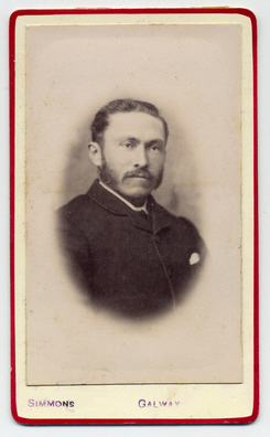 Robert William Simmons carte de visite photograph 1