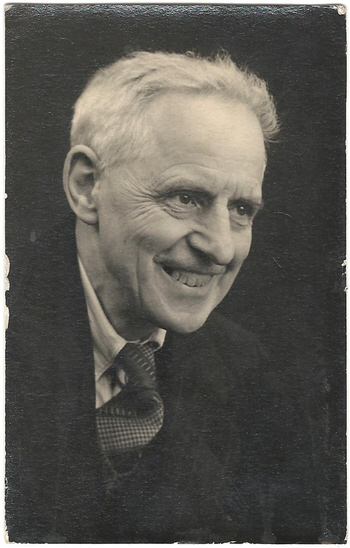 A portrait of J T Biltcliffe taken about 1930