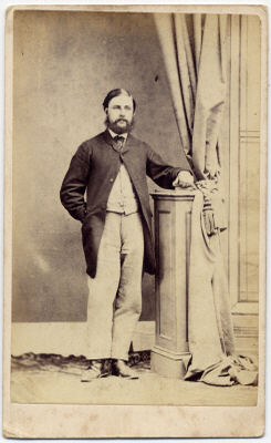 William Pousty carte de visite photograph 1