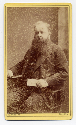 Aaron Vandyke carte de visite photograph 1 taken in London