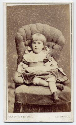 Vandyke & Brown carte de visite photograph 10 dated 1874