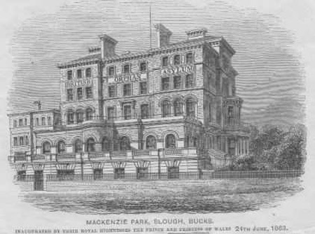 British Orphan Asylum - Mackenzie Park, Slough - post 1863