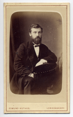 Edmund Joseph Huther carte de visite photograph 3