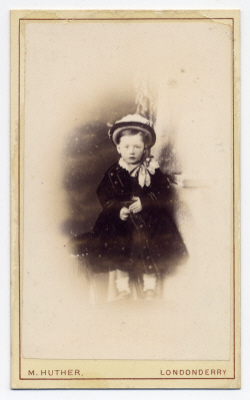 Mary Huther carte de visite photograph 5