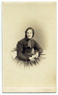 Robert Cade carte de visite photograph 11a pair