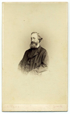 Robert Cade carte de visite photograph 11b pair