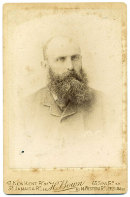 Henry Bown photograph 18 - cabinet card