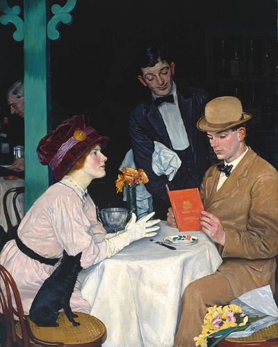 William Strang, Bank Holiday 1912
