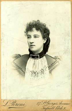 Luisina Peroni taken about 1894