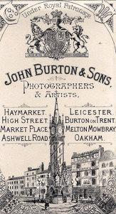 John Burton & Son Victorian Photographer - Studio