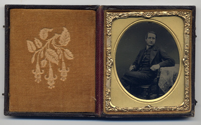 Ambrotype Cased Inside