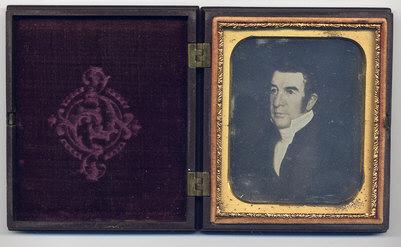 Union Case with Daguerreotype Inside