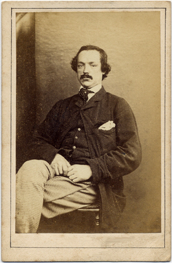Giles, James carte de visite face