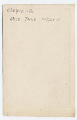 Thomas Bennett carte de visite 1 (verso)