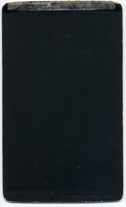 Thomas Bennett & Son carte de visite 4 (verso)