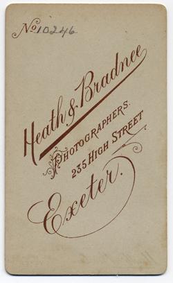 Heath & Bradnee Carte de visite 1 Back