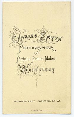 Smyth, Charles carte de visite 12 (verso)