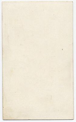Starbuck, John carte de visite 1 (verso)