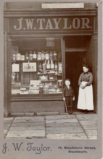Taylor, John Watson - Blackburn shop