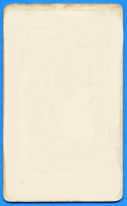 Carte de visite No.1 (verso)