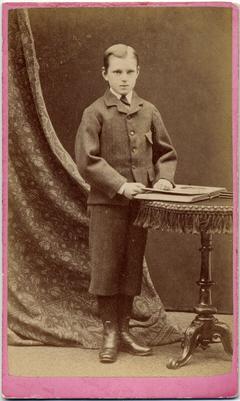 George McKenzie junior carte de visite photo 3
