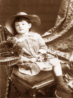 Photograph of Florence MacKenzie Candlish by George McKenzie junior