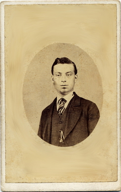 William Heathman carte de visite photograph 3(verso)