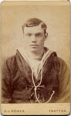 Henry James Nobes carte de visite photograph 1