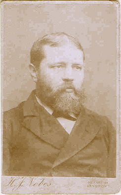 Henry Nobes self portrait about 1891