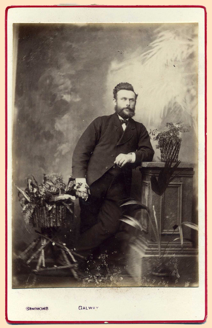 Simmons, R W cabinet card photograph 2