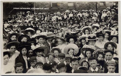 Biltcliffe Brothers photographic postcard 1_ Stocksbridge 1909