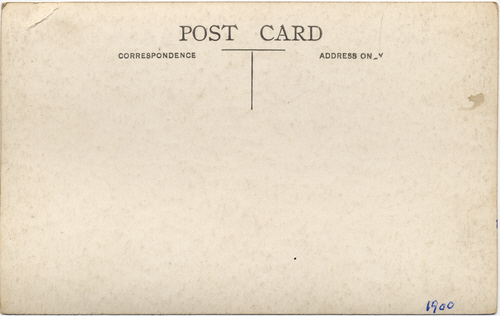 Biltcliffe photographic postcard 1(verso) _ Ladies Cricket (Pentoss)
