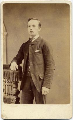 Joshua Biltcliffe carte de visite photograph 1