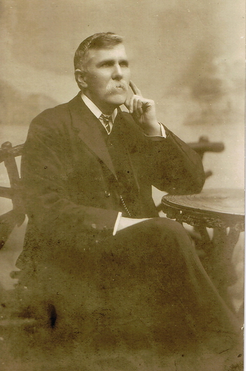 Henry Keatinge, brother of Sarah Keatinge – photo probably by George Henry Glasson