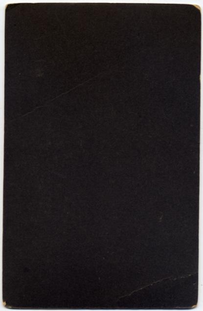 Joshua Biltcliffe & Sons cabinet photograph 1(verso)