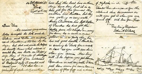 Wilson J H Letter to Tom