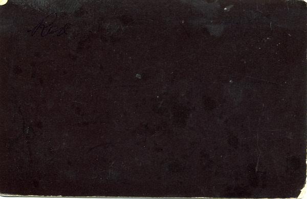 John Herbert Wilson cabinet card photograph 3 (verso)