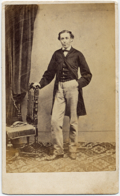 William Pousty carte de visite photograph 2