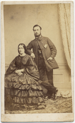 William Pousty carte de visite photograph 4