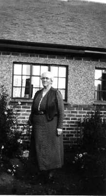 Fanny Spencer in later life
