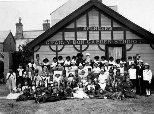 Spencer's Craig-Y-Don Garden Studio, Llandudno about 1925