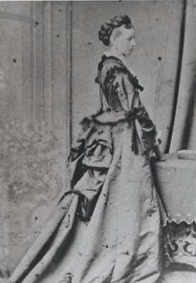 Clara Mary Wilson nee Rouse Johns mother c 1870